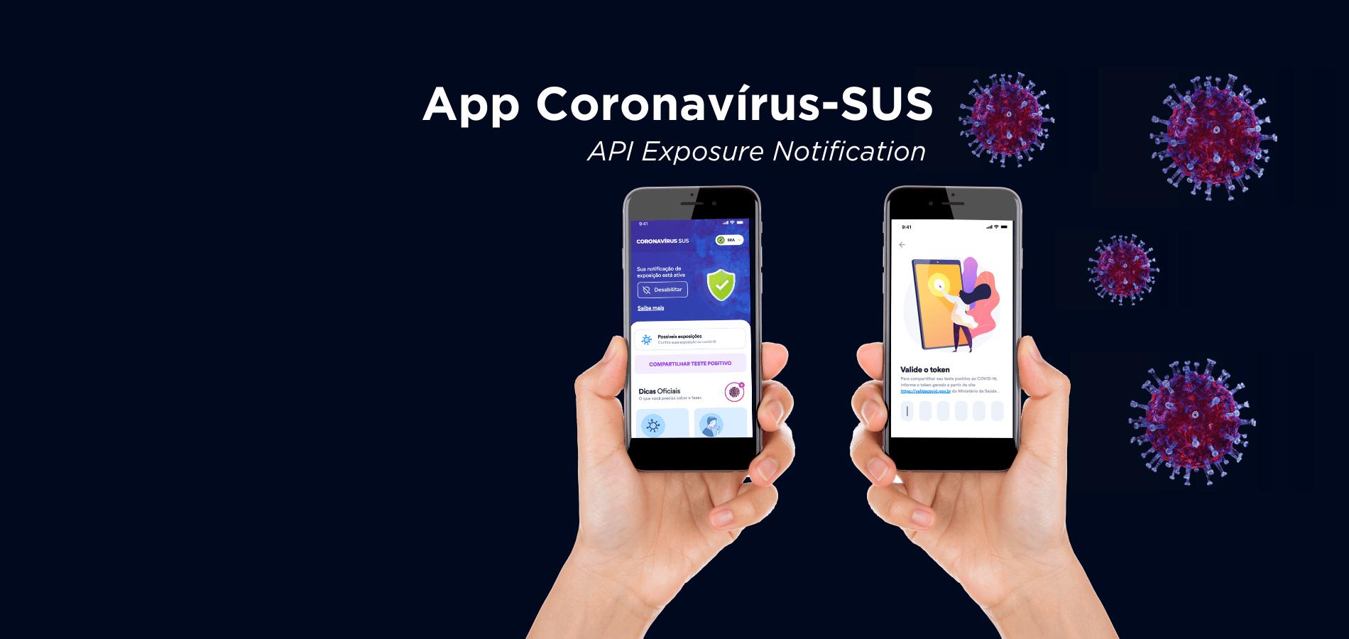 Aplicativo Coronavírus-SUS vai alertar contatos próximos de pacientes com Covid-19