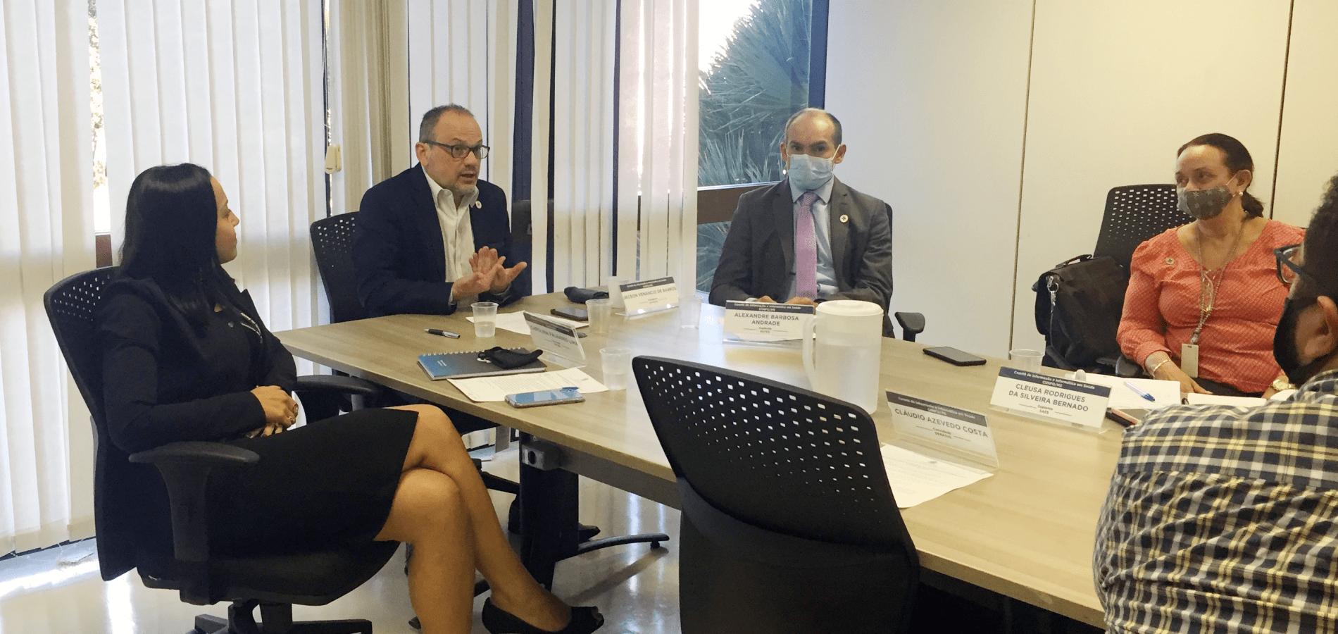 Comitê de Informação e Informática em Saúde traça estratégias para a área