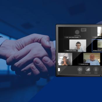 Reunião virtual com autoridades da Dinamarca