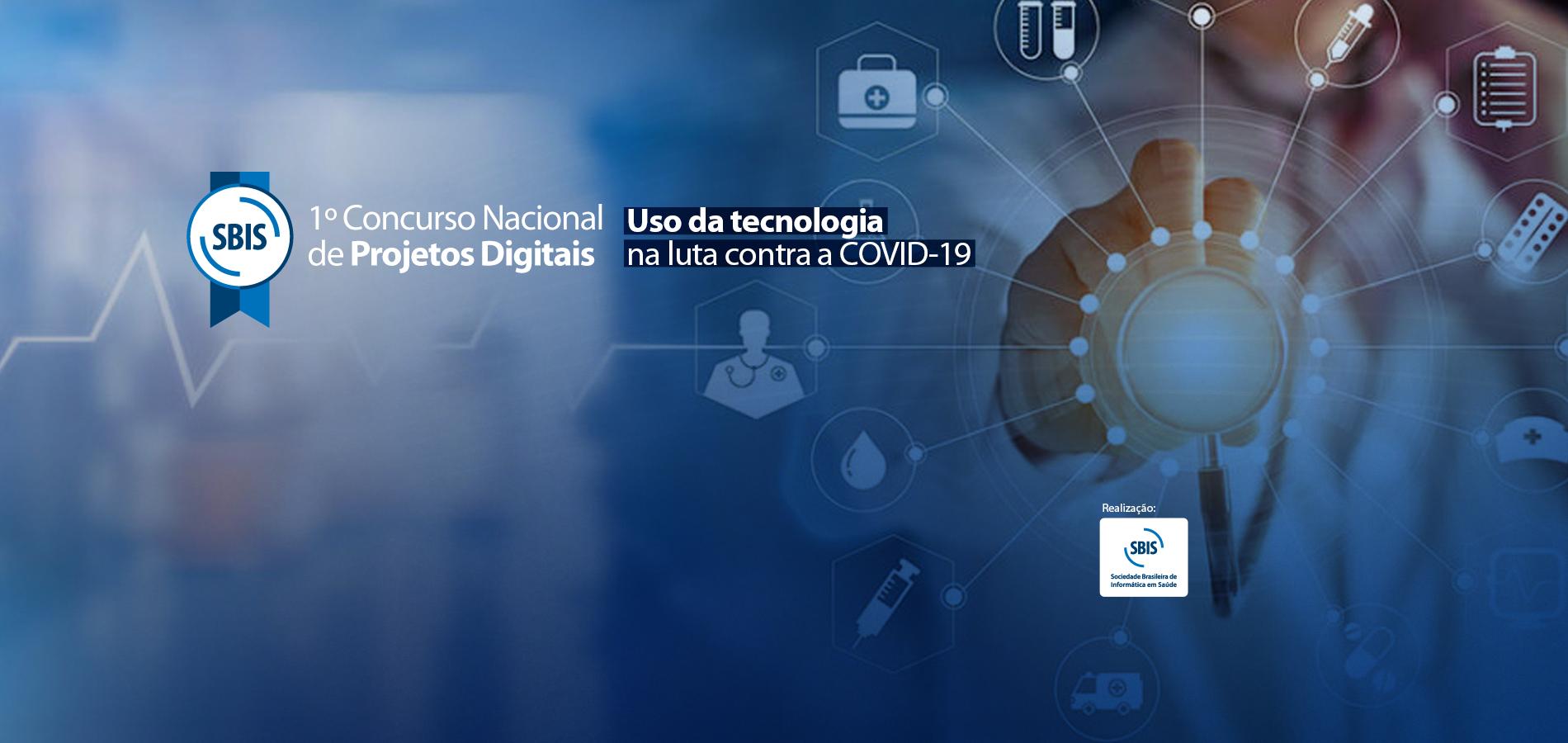 Concurso seleciona projetos digitais para combater a COVID-19