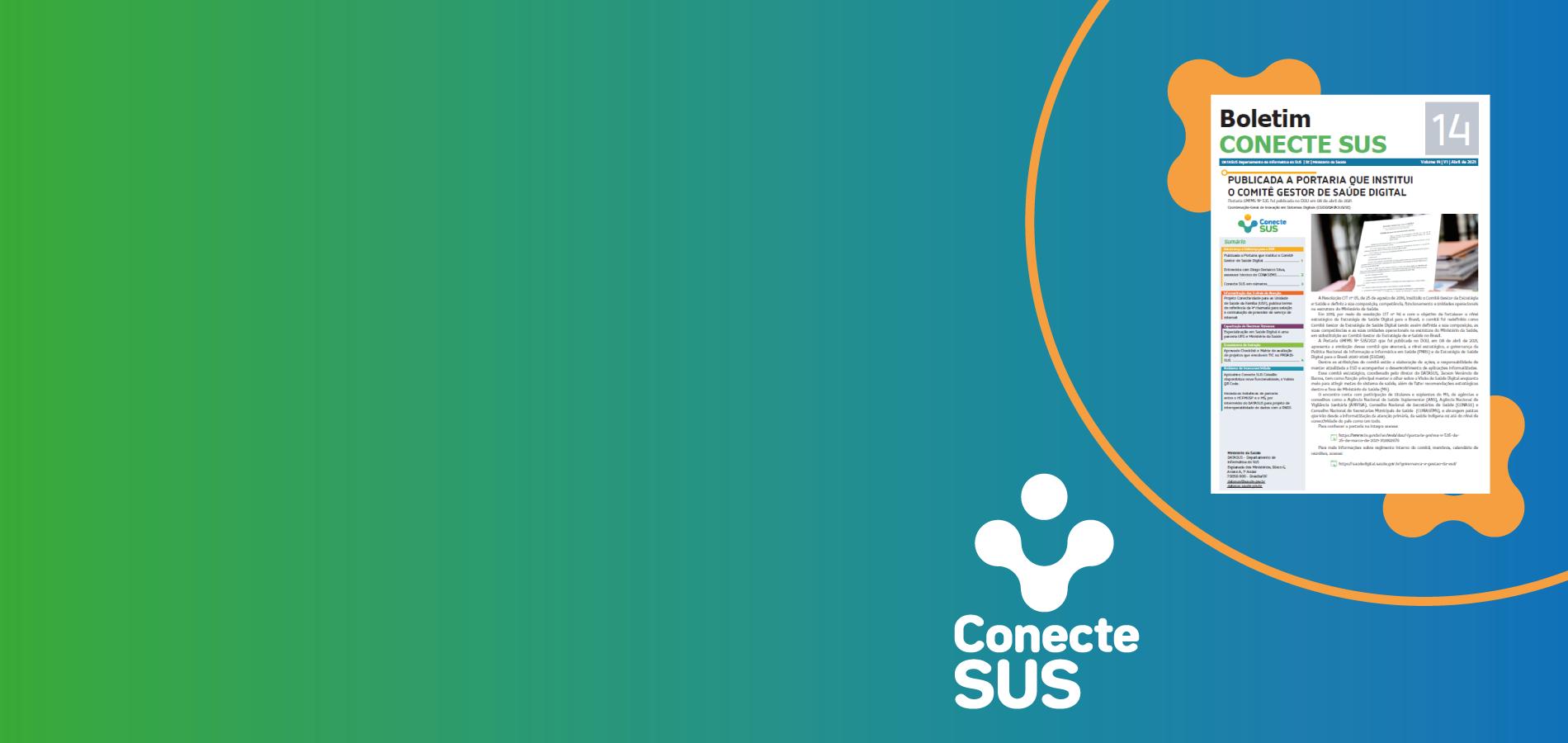 DATASUS lança 14º volume do Boletim Conecte SUS