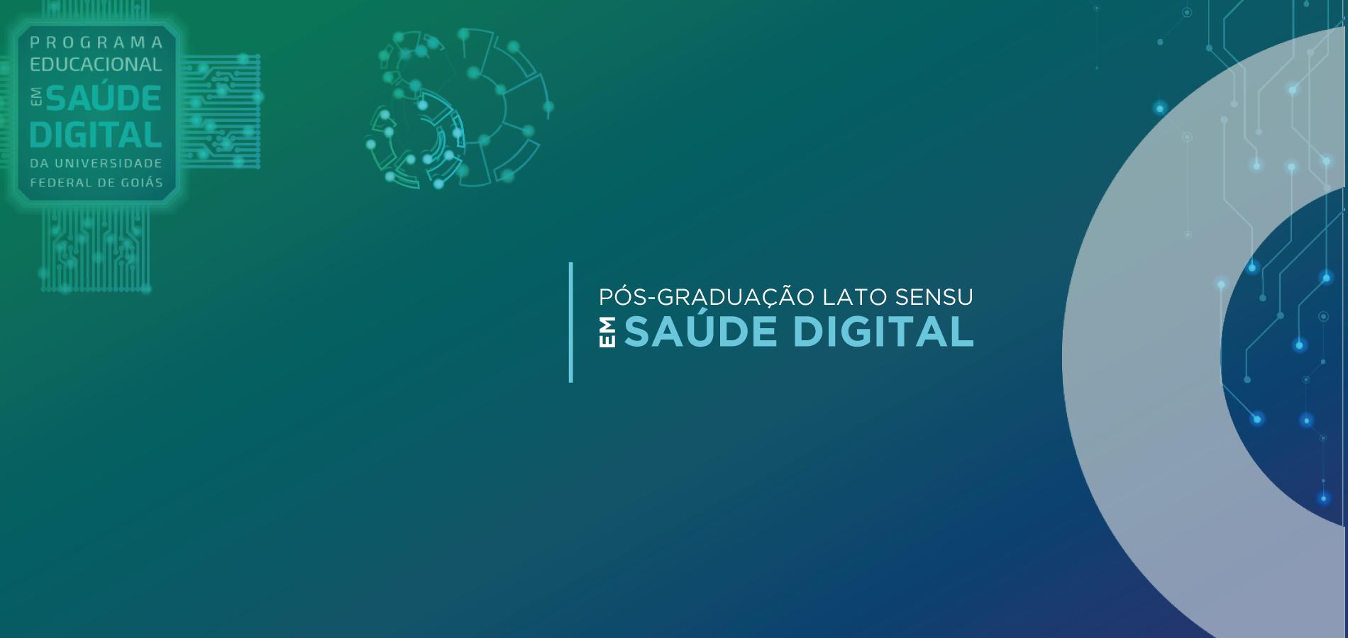 Saúde digital é tema de primeiro encontro online de curso oferecido pela UFG em pós-graduação na área